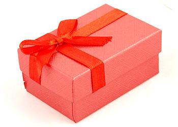 Red - červená krabička na dva snubní prsteny White - bílá ...