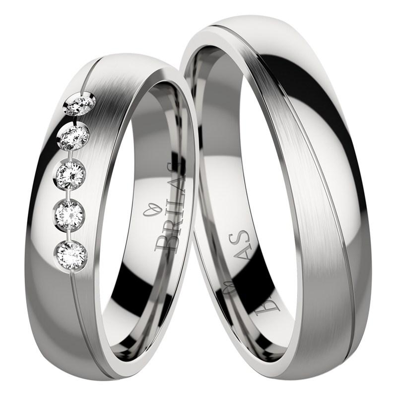 Snubní prsteny brilas