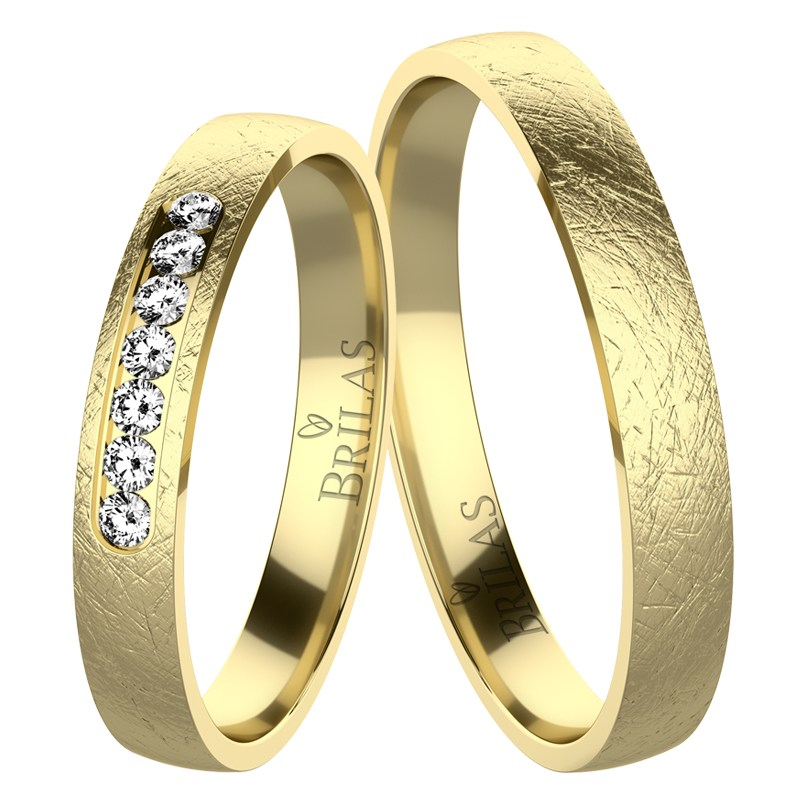 Desire Gold Snubni Prsteny Ze Zluteho Zlata Brilas