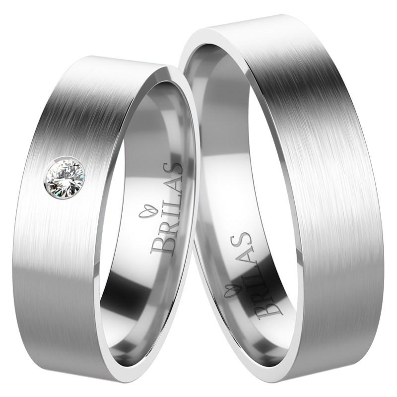 26711b18f Apus White Diamond - snubní prsteny z bílého zlata | BRILAS
